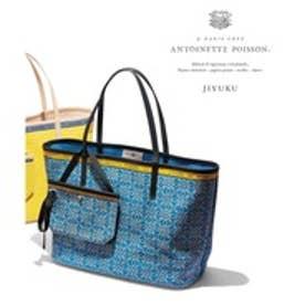 自由区 Antoinette Poisson BOTANIQUE トートバッグ(検索番号G49) (ブルー系)