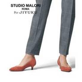 自由区 【マガジン掲載】STUDIO MALORI BEAUTY FIT パンプス(検索番号C42) (オレンジ)