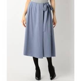 自由区 ピーチツイル スカート (ブルー系)