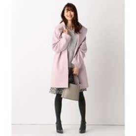 組曲 L 【MORE12月号掲載/定番人気!】ウールアンゴラビーバー コート (ピンク系)
