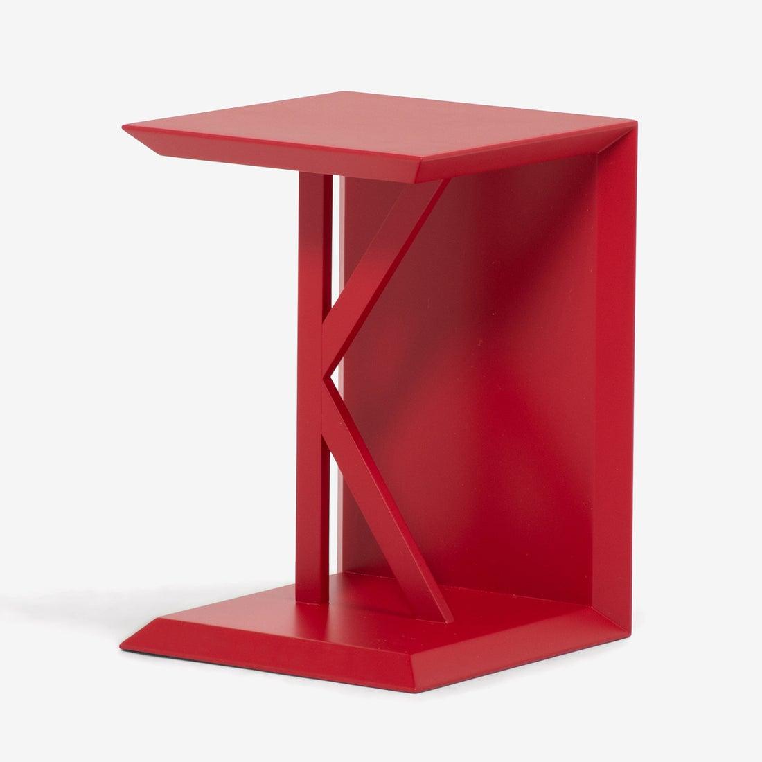IDC OTSUKA/大塚家具 サイドテーブル K1 レッド (レッド)