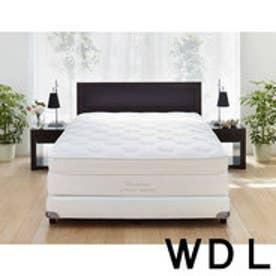 IDC OTSUKA/大塚家具 ベッドフレーム ヴィータ2S 引出付オーク ワイドダブルロング(WDL) DB(ダークブラウン)色 (ダークブラウン)