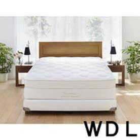 IDC OTSUKA/大塚家具 ベッドフレーム ヴィータ2S 引出付オーク ワイドダブルロング(WDL) WO(ホワイトオーク)色 (ホワイトオーク)