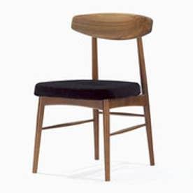 IDC OTSUKA/大塚家具 椅子 ユノA WN/カバー布#2 ブラック (ブラック)