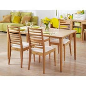 IDC OTSUKA/大塚家具 テーブル N-T005 WO ナラ W1350XD-00 (ホワイトオーク)