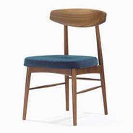 IDC OTSUKA/大塚家具 椅子 ユノA WN/カバー布#2 ブルー (ブルー)【返品不可商品】