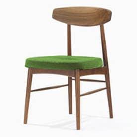 IDC OTSUKA/大塚家具 椅子 ユノA WN/カバー布#2 ライトグリーン (ライトグリーン)