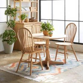 IDC OTSUKA/大塚家具 丸テーブル T-5651 白木塗装 ナラ (ホワイトオーク)