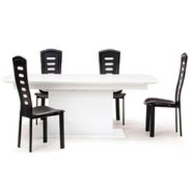 IDC OTSUKA/大塚家具 ダイニングテーブル(伸長式) DM-GF016 WH (ホワイト)