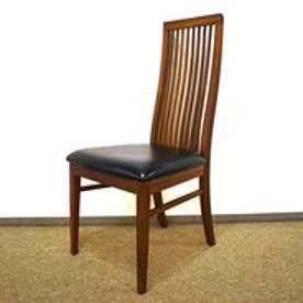 IDC OTSUKA/大塚家具 椅子 ボラーレ3 ソフトレザーBK/WN (ブラック)【返品不可商品】