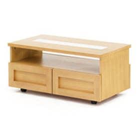 IDC OTSUKA/大塚家具 センターテーブル ヴィータ2 90 WOオーク (ホワイトオーク)【返品不可商品】