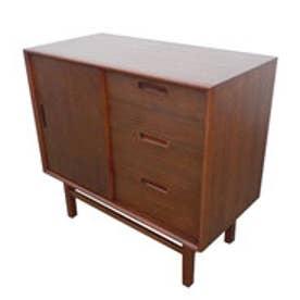 IDC OTSUKA/大塚家具 サイドボード フィル 90 ウォールナット材/ウォールナット2色 (ウォールナット)