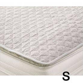 IDC OTSUKA/大塚家具 ベッドパッド ドクタースミスN パイル炭糸 Sサイズ (グレー)