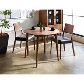 IDC OTSUKA/大塚家具 椅子 シネマ B2タイプ ウォールナット材/WN2色 PVCブラック (ウォールナット)