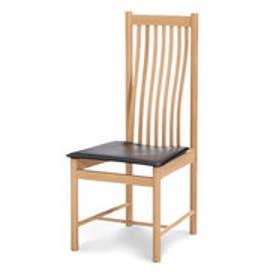 IDC OTSUKA/大塚家具 椅子 ノバ 2706 革ブラック/WOオーク (ブラック)【返品不可商品】