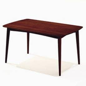 IDC OTSUKA/大塚家具 ダイニングテーブル シネマ3 レッドオーク材 1500タイプ Dダークブラウン色 (ダークブラウン)