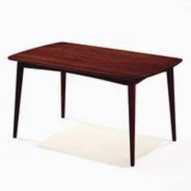 IDC OTSUKA/大塚家具 ダイニングテーブル シネマ3 レッドオーク材 1800タイプ Dダークブラウン色 (ダークブラウン)