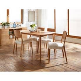 IDC OTSUKA/大塚家具 ダイニングテーブル シネマ3 レッドオーク材 1350タイプ ホワイトオーク色 (ホワイトオーク)