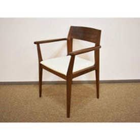 IDC OTSUKA/大塚家具 椅子A ハイヒール2 #PVCBE/WN (ウォールナット)【返品不可商品】