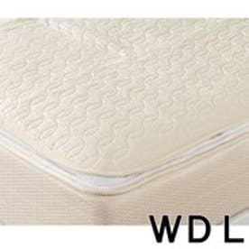 IDC OTSUKA/大塚家具 ベッドパッド コティー2 ゴム付 WDLサイズ (ホワイト)