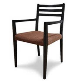 IDC OTSUKA/大塚家具 椅子ADMAK001HI布デ4144DB (ダークブラウン)【返品不可商品】