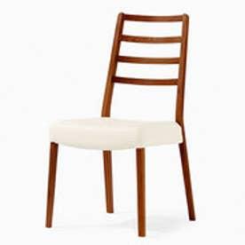 IDC OTSUKA/大塚家具 椅子 シネマ(ハイバック) Aタイプ ウォールナット/WN2色 PVCアイボリー (ウォールナット)【返品不可商品】