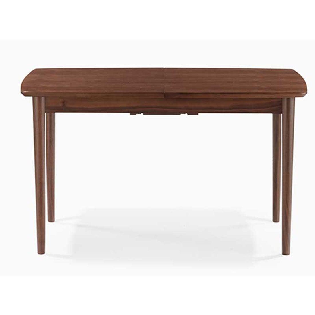 IDC OTSUKA/大塚家具 ダイニングテーブル(伸長式) ウイング WN 1250タイプ (ウォールナット)【返品不可商品】