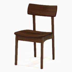 IDC OTSUKA/大塚家具 椅子 リーフ OICL-924 板座 DB(ダークブラウン)色 (ダークブラウン)
