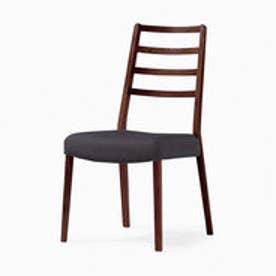 IDC OTSUKA/大塚家具 椅子 シネマ(ハイバック) Aタイプ レッドオーク/DDB色 PVCブラック (ダークブラウン)