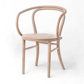 IDC OTSUKA/大塚家具 椅子 508EB 白木塗装 ブナ (ホワイトオーク)