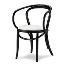 IDC OTSUKA/大塚家具 椅子 508OU #ソフトWH/BKブナ (ブラック)