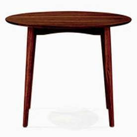 IDC OTSUKA/大塚家具 ダイニングテーブル 丸型 シネマ 1050タイプ ウォールナット材/ウォールナット2色 (ウォールナット)