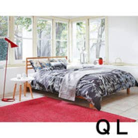 IDC OTSUKA/大塚家具 ベッドフレーム シネマ クィーンロング WO (ホワイトオーク)【返品不可商品】