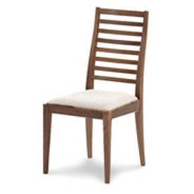 IDC OTSUKA/大塚家具 椅子 N005 WN PVCベージュ (ウォールナット)【返品不可商品】