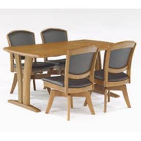 IDC OTSUKA/大塚家具 ダイニングテーブル ウルゴ2 アッシュ材 1350タイプ ミディアムオーク (ミディアムオーク)【返品不可商品】