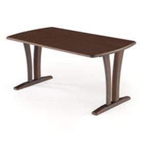 IDC OTSUKA/大塚家具 ダイニングテーブル ウルゴ2 アッシュ材 1350タイプ ダークオーク (ダークオーク)