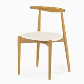 IDC OTSUKA/大塚家具 椅子 0808 #PVCIV WO ナラ (ホワイトオーク)【返品不可商品】