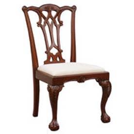 IDC OTSUKA/大塚家具 椅子 チッペンデールA マットNマホガニー2 (マホガニー)【返品不可商品】