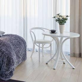IDC OTSUKA/大塚家具 椅子 508-OU ソフトレザーWH/WHブナ (ホワイト)