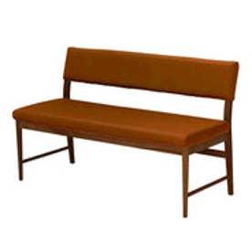 IDC OTSUKA/大塚家具 ベンチ 背付き フィル2 (本体+カバー) レッドオーク材/DB色 イエロー (イエロー)
