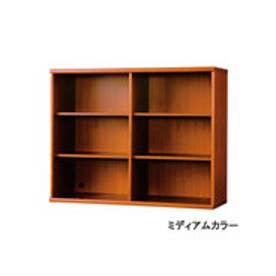 IDC OTSUKA/大塚家具 書棚 OF-120 オープン ミディアム (ミディアムブラウン)