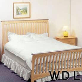 IDC OTSUKA/大塚家具 マットレスカバー アラベスク2 WDL(ワイドダブルロング) ホワイト (ホワイト)