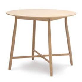 IDC OTSUKA/大塚家具 丸テーブル 209EB 白木塗装 (ホワイトオーク)