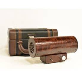 IDC OTSUKA/大塚家具 エムズシステムスピーカー[クロコ]シリーズ KA-クロコ:径60×長155×高81(mm) ブラウン (ブラウン)