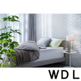 IDC OTSUKA/大塚家具 マットレスカバー マイガーデン WDLサイズ ホワイト (ホワイト)