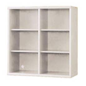 IDC OTSUKA/大塚家具 書棚 OF-90 オープン ウッディホワイト (ウッディホワイト)【返品不可商品】