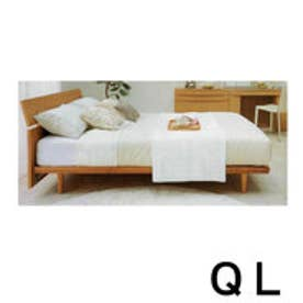 IDC OTSUKA/大塚家具 ベッドフレーム IDC-102 クイーンロング(QL) NA(ナチュラル)色 (ナチュラル)【返品不可商品】