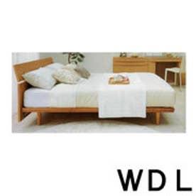 IDC OTSUKA/大塚家具 ベッドフレーム IDC-102 ワイドダブルロング(WDL) NA(ナチュラル)色 (ナチュラル)