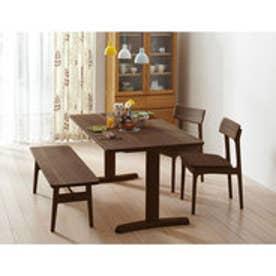 IDC OTSUKA/大塚家具 テーブル リーフ 1500 DB(ダークブラウン)色 (ダークブラウン)