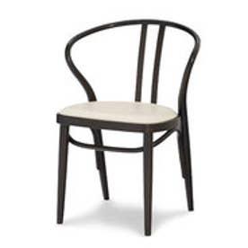 IDC OTSUKA/大塚家具 椅子 503-OU ソフトWH/DBブナ (ダークブラウン)【返品不可商品】